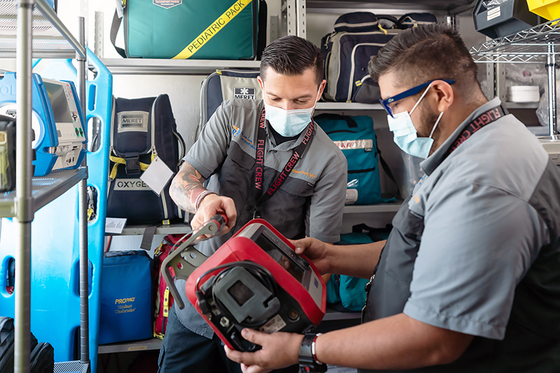 Medical equipment airlink